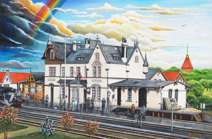 Atelier Wolfgang Rohenkohl Wildeshauser Bahnhof